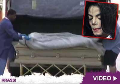 Michael Jackson Im Sarg