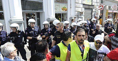 Ausschreitungen bei Erdogan- Demo in Wien: Prozessbeginn