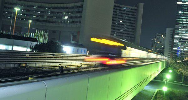 Nightride am 29. August 2014: Vier Jahre Nacht-U-Bahn in Wien feiern