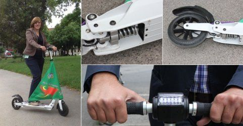 "E-Scooter ""Schweber"" im Test"