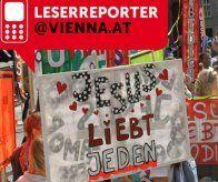 Ein Marsch für Jesus durch Wien