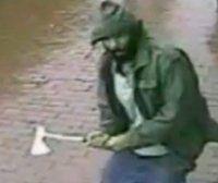 NY: Mann greift Polizei mit Axt an