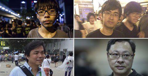 "Hongkong: Die Gesichter hinter der ""Regenschirm-Revolution"""
