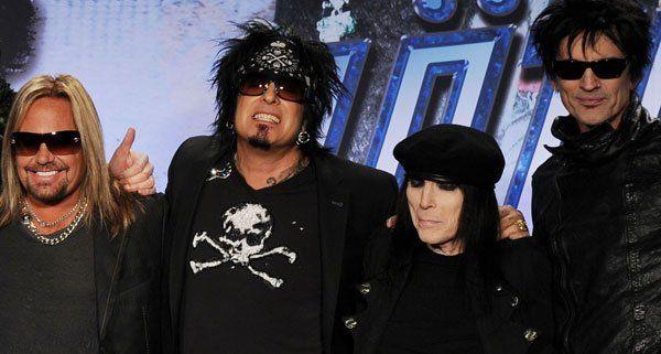 Mötley Crüe rocken das Nova Rock Festival