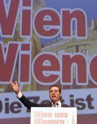 Wahlkampfauftakt der FPÖ in Wien