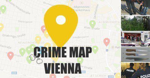 Crime Map: Kriminalität in Wien