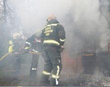 Gartenhütte in Wien brannte