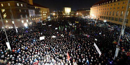 "Pegida Wien gegen ""Massenmigration"""