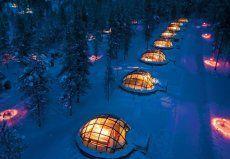 5 Eis-Hotels im Preisvergleich