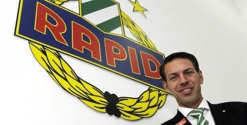 Amtsantritt des neuen Rapid Wien-Geschäftsführers Peschek