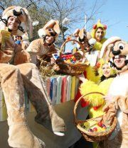 Buntes Programm beim Osterfest im Prater