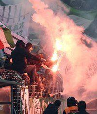 Rapid Wien-Fansektor gegen Altach gesperrt