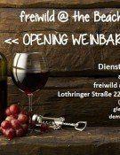 Weinbar-Opening