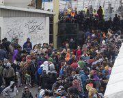 Rund 1.000 Flüchtlinge in Sammelstelle Spielfeld