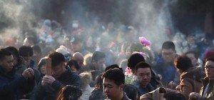 China begrüßte das Jahr des Affen mit guten Luftwerten