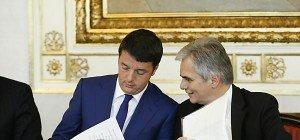 Faymann bei Italiens Premier Renzi in Rom