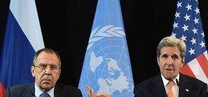 Syrien-Konferenz: Feuerpause binnen einer Woche vereinbart
