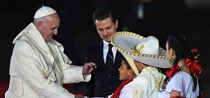 Papst Franziskus begann Mexiko-Reise