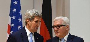 USA und Deutschland rufen zum Stopp der Kämpfe in Syrien auf