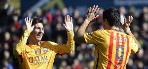 Barcelona mühte sich zu 2:0-Auswärtssieg gegen Levante