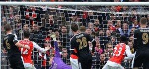 Welbeck erledigte Leicester bei Comeback in Nachspielzeit