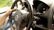 Ohne Führerschein hinterm Steuer: Anzeige