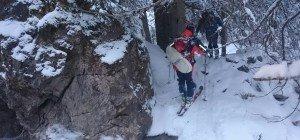 Schwierige Rettungsaktion in Flachau