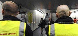 Mann verletzte bei Fahrkartenkontrolle am Westbahnhof Polizisten