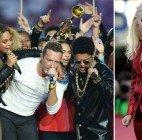 Super Bowl: Lady Gaga, Coldplay, Beyoncé und Bruno Mars heizten ein