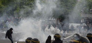 Gewalt bei Protesten gegen Arbeitsmarktreform in Frankreich