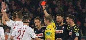 Augsburg muss auf Rettung warten: 0:0 in Überzahl gegen Köln