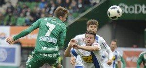 Hier ist SV Grödig gegen Rapid Wien zu sehen: Live-Stream, Fernseh-Übertragung und Ticker