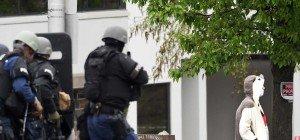 US-Polizei schoss auf Mann in Pandakostüm