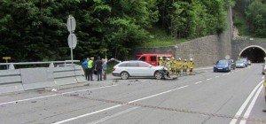 Goldegg: Sperre nach Unfall auf B311