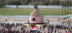 Demonstranten ziehen aus Bagdads Hochsicherheitszone ab
