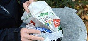 Plastiksackerl-Reduktion um 50 Prozent bis 2019