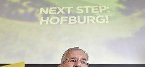 Van der Bellen lanciert letzte Plakatwelle vor der BP-Wahl