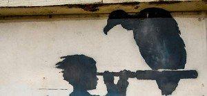 Rom zeigte eine der größten Banksy-Ausstellungen bisher