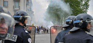 Erneut Gewalt am Rande von Protesten in Frankreich