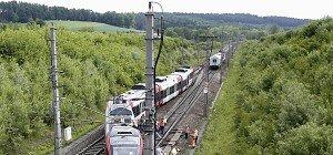 Westbahnstrecke in Oberösterreich wieder frei