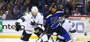 St. Louis glich mit 6:3 bei San Jose im NHL-Halbfinale aus