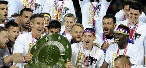 Meister St. Pölten feierte den Aufstieg mit 6.000 Anhängern