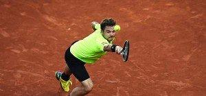 Titelverteidiger Wawrinka im Achtelfinale der French Open