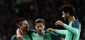 Auch ohne Ronaldo siegte Portugal im ersten EM-Test klar