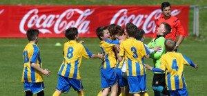 Nachwuchsfußball: Vienna gewinnt Landesfinale des Coca-Cola-Cups