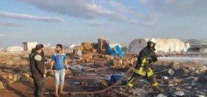 Dutzende Tote bei Luftangriff auf Flüchtlingslager in Syrien
