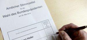 LIVE Bundespräsidentenwahl: Ergebnis und Hochrechnung der Stichwahl