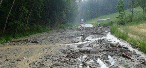 Chaos und Überschwemmungen: Unwetterzellen entluden sich in Niederösterreich