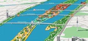 Donauinselfest Plan 2016: Alle Bühnen und Stationen