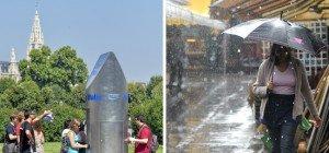 Sonne und Regen: So wird das Wetter am langen Wochenende